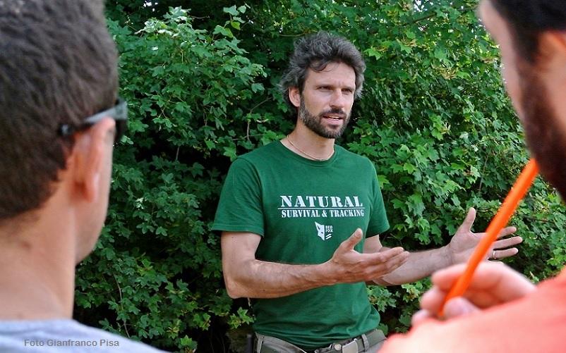 Marco Priori insegna al Corso Safari in Umbria